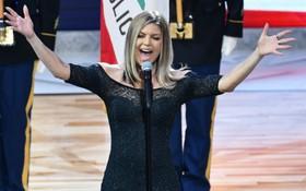 """Màn trình diễn quốc ca Mỹ của Fergie gây sốt vì... giọng ca quá """"thảm họa"""""""