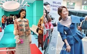 Cùng dự show tại Milan, Kim Hee Sun được chào đón trong khi Seolhyun bị cho là chẳng ai quan tâm