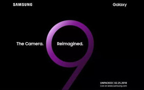 Xin giới thiệu Samsung Galaxy S9: Quét được calo của đồ ăn, camera 2 khẩu độ, giá khoảng 22 triệu đồng