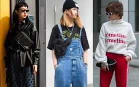 """Street style 2 miền: Ra Tết, giới trẻ đã tích cực đọ độ """"swag"""" với toàn những set đồ bụi bặm"""
