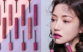 3CE bổ sung 3 màu mới toanh toàn tông tím cực trendy cho dòng son kem Velvet Lip Tint