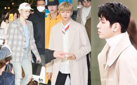 """SHINee và Wanna One đụng độ tại sân bay: """"Center quốc dân"""" có đọ được với độ sang chảnh của Key và Taemin?"""