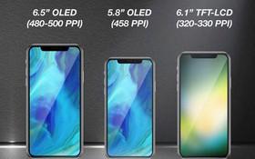 Bộ ba iPhone 2018 sẽ ra mắt cuối năm: iPhone vàng sang chảnh, iPhone 2 SIM và iPhone giá rẻ cho sinh viên
