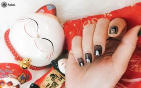 """Đón Tết long lanh cùng bộ sưu tập nail """"Mèo Thần Tài"""" cực cute"""