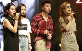 """Phạm Quỳnh Anh, Only C, Bích Phương, Trang Pháp tập luyện đầy cảm xúc cho bài hát chủ đề của """"WeChoice Awards 2017"""""""