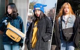 """Street style giới trẻ Hàn tuần qua: không có lấy một set đồ """"bánh bèo"""", cô nàng nào cũng ăn vận siêu cool"""