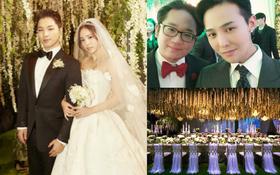 Tiệc cưới xa hoa của Taeyang: Cô dâu chú rể cuối cùng đã lộ diện, G-Dragon, T.O.P cùng dàn sao siêu sang đổ bộ
