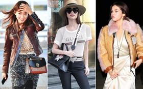 """Phải công nhận, Hà Hồ """"lên đồ"""" street style chuẩn không kém loạt sao ngoại như Selena, Park Shin Hye..."""