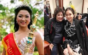 Nhan sắc xinh đẹp bất chấp thời gian của Nguyễn Thị Huyền sau 13 năm đăng quang Hoa hậu trong hậu trường Táo quân