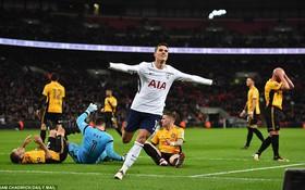 """Tottenham đi tiếp ở FA Cup nhờ đối thủ """"đốt đền"""""""