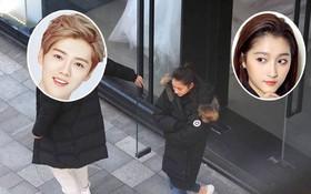 """Bạn gái gia thế """"khủng"""" của Luhan đi thử váy cưới sau 5 tháng công khai hẹn hò?"""