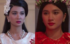 """Nghĩ mà tội Ba Trang (Kim Tuyến), """"Mộng Phù Hoa"""" mới phát 9 tập mà cô đã 5 lần bị cưỡng bức, 3 lần bán thân"""