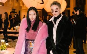 Châu Bùi và Kelbin Lei chất lừ dự show tại Paris, hé lộ không gian Phù Tang siêu ảo của H&M Studio
