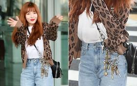 Diện phụ kiện 20 triệu đồng, thế mà HyunA lại bị mỉa mai như đang mang cả chùm khóa bên người