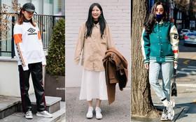 Thích ăn vận đơn giản nhanh gọn mà vẫn đẹp ngất ngây, bạn nhất định nên học hỏi street style của giới trẻ Hàn tuần qua