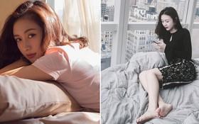"""""""Rổ"""" ảnh sống ảo trên giường của các hot girl Việt, từ trong sáng thiên thần tới sexy táo bạo!"""