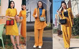 Street style sao tháng 3 báo hiệu màu vàng đang là hot trend khi Chi Pu, Hương Tràm, Văn Mai Hương... đều chọn mặc
