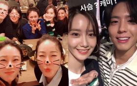 Khung cảnh sau sự kiện siêu khủng gây sốt: Nhóm bạn thân mỹ nhân hạng A tụ họp, Yoona và Park Bo Gum tíu tít