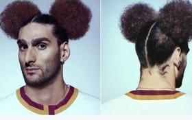 Chết cười với kiểu tóc... chuột Mickey của sao Man Utd
