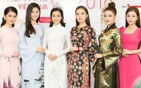 Khoảnh khắc hiếm hoi: 6 Hoa hậu, Á hậu hai mùa Hoa hậu liên tiếp diện áo dài đọ sắc