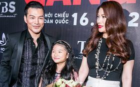 Trương Ngọc Ánh dắt con gái đến chúc mừng Trần Bảo Sơn ra mắt phim hợp tác Hong Kong