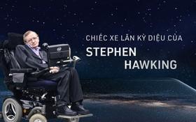 Câu chuyện về chiếc xe lăn diệu kỳ của huyền thoại Stephen Hawking: người kết nối vũ trụ trên từng vòng xoay
