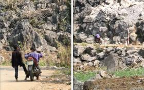Clip: Hai cậu bé vùng cao phối hợp nhịp nhàng giúp nhau đi xe máy