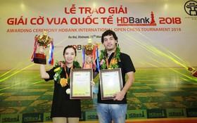 Kỳ thủ trẻ Việt Nam vuột ngôi vô địch giải cờ vua casino o viet nam HDBank 2018