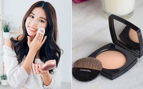 Hóa ra để có da mặt căng bóng mà vẫn ráo mịn, thì các quý cô xứ Hàn còn dùng thêm loại phấn này