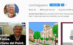 Cụ bà 87 tuổi nổi tiếng sau một đêm vì tài năng hiếm có, Instagram có ngay cả trăm ngàn follower