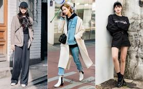 Các bạn trẻ Hàn Quốc chứng minh diện đồ đơn giản, khỏe khoắn cũng tôn dáng và hút mắt không thua kém váy vóc điệu đà