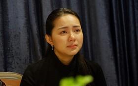"""Phan Như Thảo nghẹn ngào khẳng định trong họp báo: """"Chỉ có duy nhất một người có đủ động lực hại mình"""""""