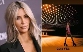 """Mồm thì khen Saint Laurent """"dễ thương"""" nhưng thật ra Kim Kardashian lại cạnh khóe hãng ăn cắp ý tưởng?"""