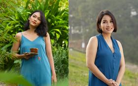 """Rũ bỏ hình tượng nghiện ngập trong """"Tháng năm rực rỡ"""", Kiều Chinh lột xác đẹp mong manh trong MV mới của Mỹ Linh"""