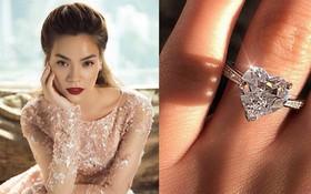 """Hà Hồ vừa khoe nhẫn kim cương cỡ đại, các """"thánh soi"""" đã xôn xao nguồn gốc của bức ảnh"""