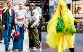 Tại Tokyo Fashion Week, có những bộ cánh khiến người xem phải tròn mắt