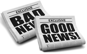 """Khoa học giải đáp: """"Có một tin xấu và một tin tốt, bạn muốn nghe tin nào trước""""?"""