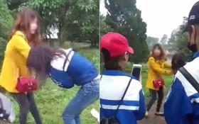 Nữ sinh bị vây đánh, lột áo dù đã van xin: Nhắn tin với người có vợ?