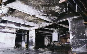 Ớn lạnh hiện trường nơi ngọn lửa bùng phát tại hầm chung cư Carina khiến 13 người tử vong
