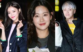 """Tiệc mừng công phim """"Hoa du ký"""": Mỹ nhân Oh Yeon Seo mặt sưng vù bóng nhẫy, bị """"nàng cương thi"""" dìm thậm tệ"""