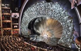 Bí mật sân khấu Oscar 2018: 45 triệu viên pha lê Swarovski đắt đỏ tạo nên màn tiệc mê hoặc