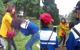 Khởi tố vụ hai chị em lột áo đánh ghen nữ sinh lớp 11