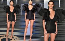 Khoảnh khắc đỉnh cao của Kendall: Body nuột nà đẹp tựa thần Vệ Nữ tại tiệc hậu Oscar 2018