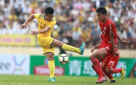 Phan Văn Đức U23 cùng SLNA giữ sạch lưới 3 trận liên tiếp ở AFC Cup