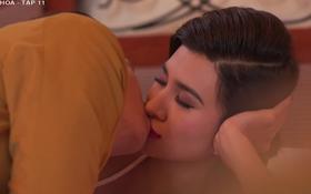 """""""Mộng Phù Hoa"""": Kim Tuyến nổi máu ham đánh bạc, học đòi cặp kè trai có vợ để rồi bị tạt axit"""