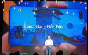 Mới quay lại thị trường Việt Nam, Honor tuyên bố sẽ đứng Top 3 thương hiệu smartphone tại thị trường nước ta sau 3 năm