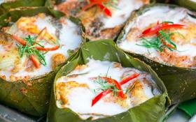 Chỉ với nguyên liệu cá nhưng món Amok của Cambodia rất thu hút thực khách là nhờ bí quyết truyền thống đặc biệt