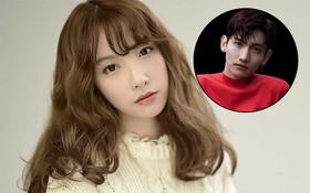 """""""Bản sao Taeyeon"""" phấn khích khi được gặp thần tượng Changmin (DBSK)"""
