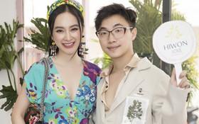 Angela Phương Trinh, Chi Pu xinh đẹp đến mừng chuyên gia trang điểm Hiwon