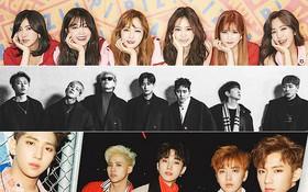 """3 idolgroup lọt tầm ngắm của """"lời nguyền số 7"""" trong năm 2018"""